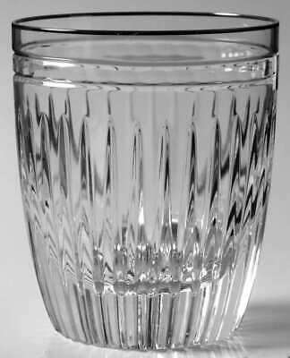 Platinum Double Old Fashion (Waterford HANOVER PLATINUM Double Old Fashioned Glass 5640801 )