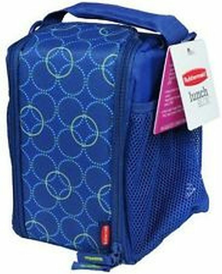 RUBBERMAID LUNCH BLOX INSULATED LUNCH BAG 18137779  BLUE