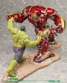 Marvel Avengers Kotobukiya Hulkbuster and Hulk figure East Victoria Park Victoria Park Area Preview