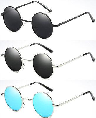 Polarized Round Sunglasses Mens Womens Retro Vintage John Lennon Sunglasses 2019