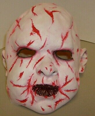 Possessed Baby Halloween Costume ( Exorcist Possessed DEMON BABY Horror Movie MASK HALLOWEEN COSTUME Cosplay NEW )