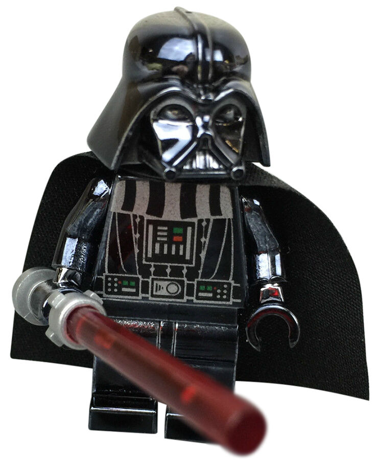 Chrome Black Darth Vader