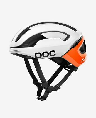 (POC Cycling Omne Air SPIN Cycling Helmet Zink Orange AVIP Size SML)