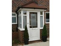 Windows , doors , porches . Very good prices . SUPPLIED& FIT