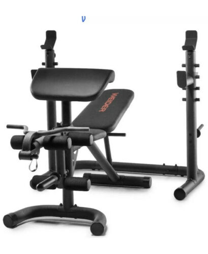 Weider XRS 20 Olympic Workout Bench with Independent Squat R