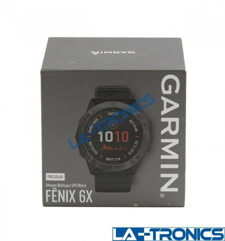 Garmin FĒNIX 6X Pro Solar Edition Titanium 51mm Smart Watch