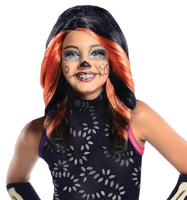 Monster High Skelita Calaveras Child Wig Disguise Movie Theme Party Halloween - Skelita Halloween Wig