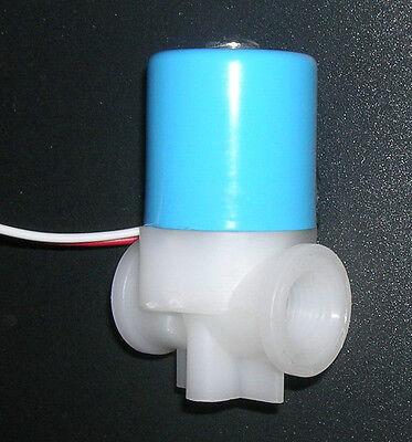 "1/4"" NPT Electric Solenoid Valve 12-Volt DC N/C Air Water"