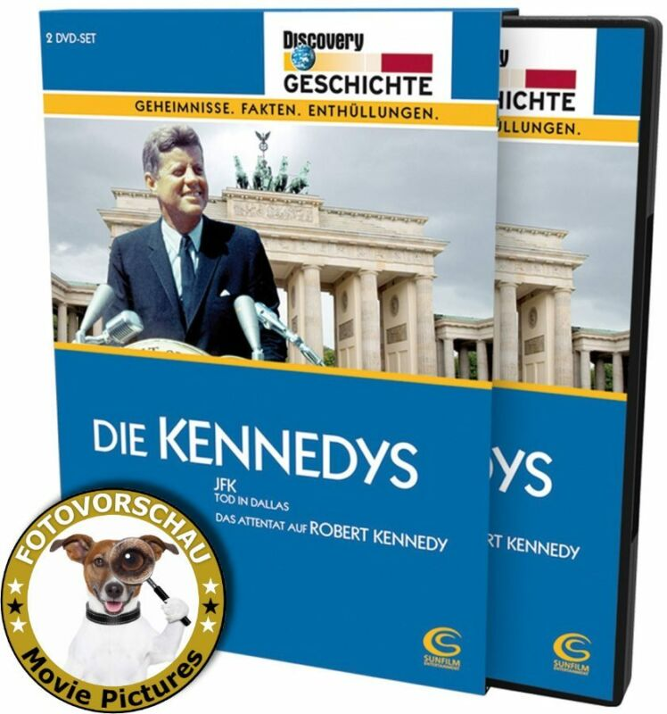 DVD; Die Kennedys: JFK - TOD IN DALLAS / WER ERSCHOSS ROBERT KENNEDY (Discovery)
