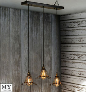 industrial pendant light ebay. Black Bedroom Furniture Sets. Home Design Ideas