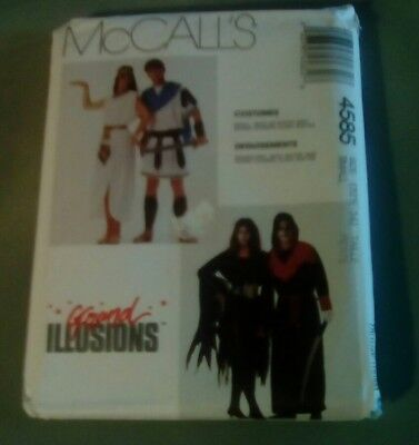 McCalls Adult Costume sewing pattern Skullitar Allura Cleopa Marc Anthony DIY - Adult Costume Diy