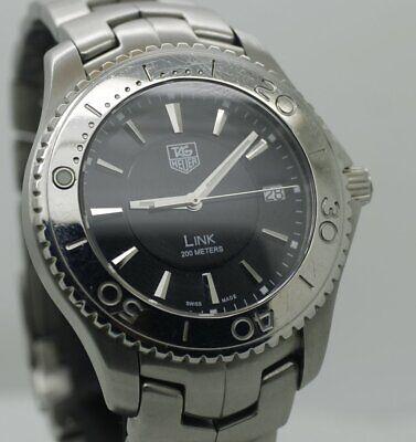 TAG Heuer HEUER LINK 200M Black DIAL Men's Watch
