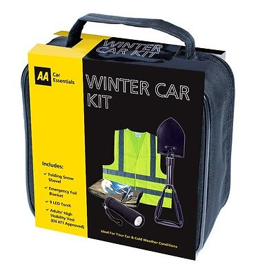 AA Winter Car Kit Driving Gift Pack with Snow Shovel ideal for emergencies