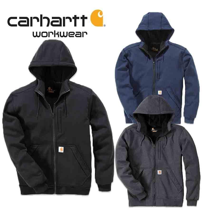 Original Carhartt Wind Fighter Sweatshirt Jacke Regen Raindefender 101759