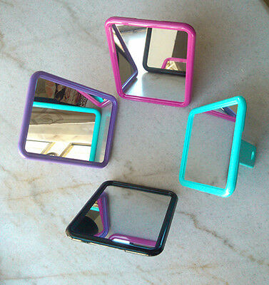 Nice Rectangle Makeup Mirror with Eyelet Stand Ok to Put on