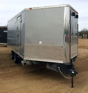 2014 Forest River HAFS8526TA3 Enclosed Snowmobile Trailer