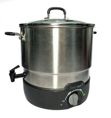 Ball 1440035017 FreshTECH Electric Water Bath Canner & Multi-Cooker, 21-Qt