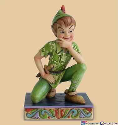 Jim Shore Disney Peter Pan Figure