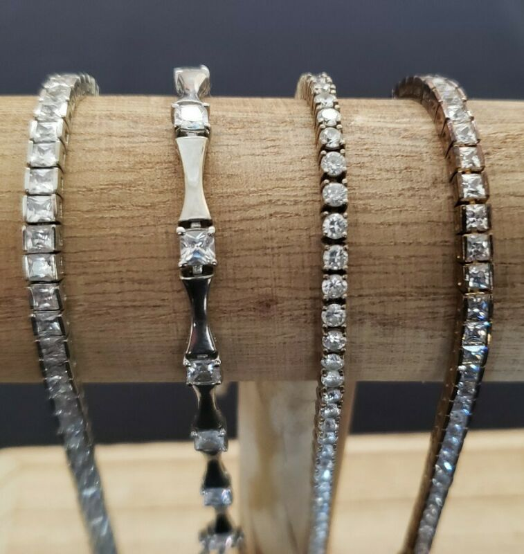Lot of sterling silver bracelets