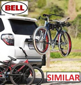 NEW BELL HITCHBIKER 400 BIKE RACK 1003802 188237375 Carries bikes up to 35 lb. each and 140 lb. total.