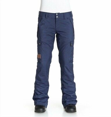 Dc Recruit Womens Snowboard Pants Patriot Blue New Small