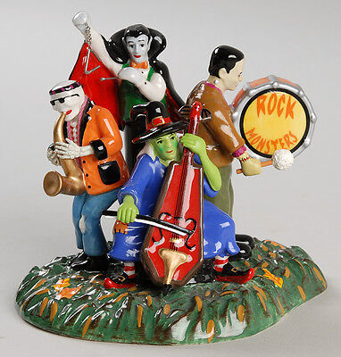 Department 56 Halloween Monsters Rock Band accessory