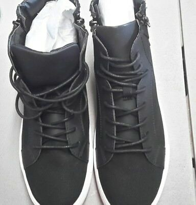Kenneth Cole Unlisted Boot Camp Cn Um30036cn Black High Top Size 7M New