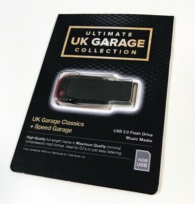 Ultimate UK Garage Collection - x1100 Un-mixed Full Length Quality Tracks (NEW)