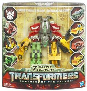 Transformers: Revenge of the Fallen Constructicon Devastator Figure
