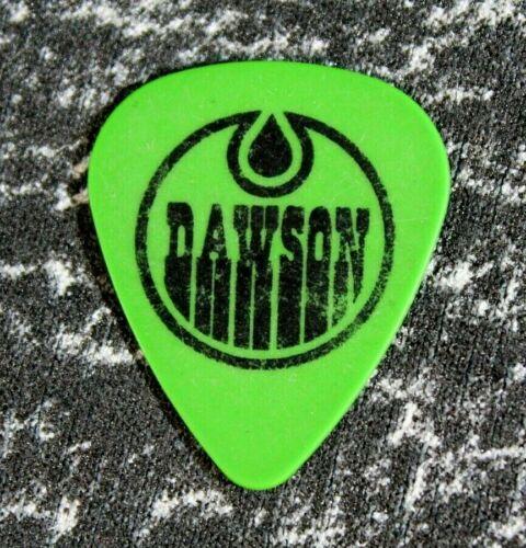Nickelback // Rob Dawson Guitar Tech Tour Guitar Pick // Green/Black