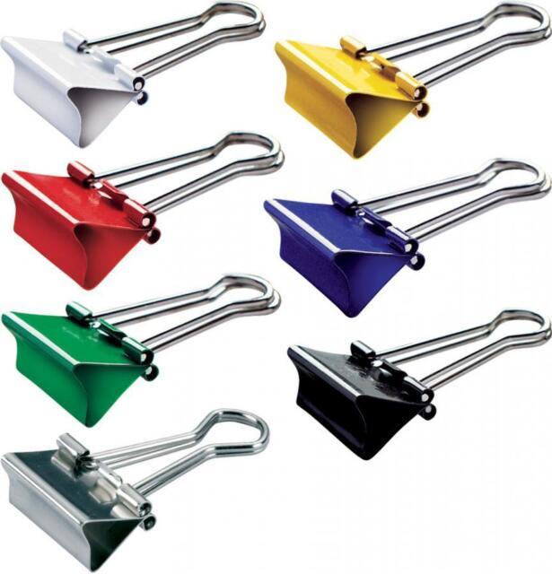 MAUL mauly 214 Foldback-Klammer, Weite 4,5,7,9,13,19,28mm Binder Clips Vielzweck
