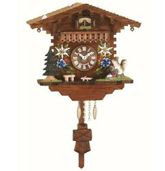 Kuckulino Black Forest Clock with quartz movement and cuckoo ch.. TU 2038 PQ NEW