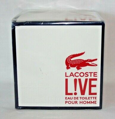 Lacoste Live Fragrance for Men Eau de Toilette Spray 1.3 oz