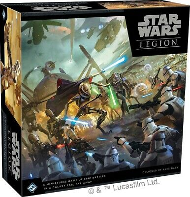 Star Wars: Legion - Clone Wars Core Set Starter Game FFG NIB PRESALE SHIPS 10/18