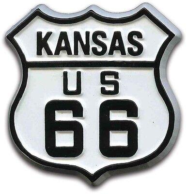 Route 66 Kansas Road Sign Fridge Magnet