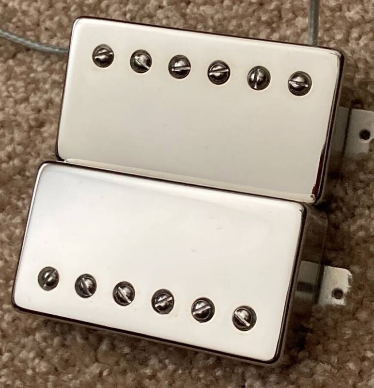 Rio Grande BBQ / Genuine Texas Humbucker Set Nickel