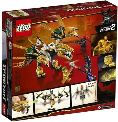 LEGO 70666 Ninjago Legacy Golden Dragon 2019