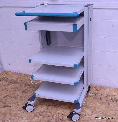 Medical Rolling Workstation Cart