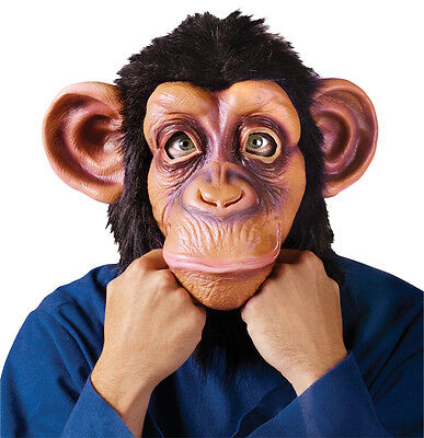 HALLOWEEN ADULT BRUNO MARS LAZY SONG  CHIMP GORILLA MONKEY APE MASK PROP - Masquerade Halloween Song