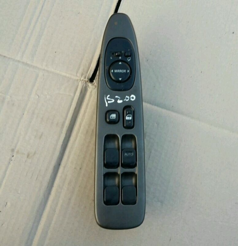 Lexus IS200 Driver side front master window switch  98-2005