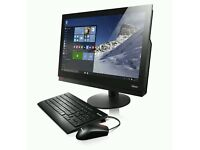 """ThinkCentre M900z 23.8"""" All in One PC Core i5-6500, 4GB, 500GB+8GB SSHD New unboxed 3yr wrrty"""