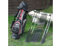 Full set of Clubs, and Standbag