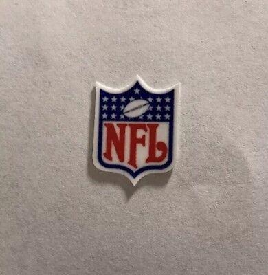 Mini 25 Star NFL Shield Football Helmet Decal Custom (Star Football Mini)