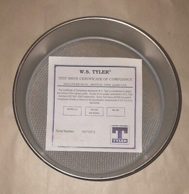 120 Us Standard Test Sieve 8 Round 8-fh-ss-ss-us120 Mesh Screen Lab