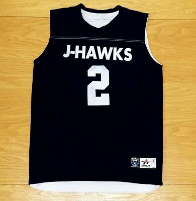bf8655af8 J-HAWKS Alleson Athletic Reversible Blue   White Basketball Jersey L Youth  Large