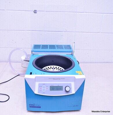 Barnstead Genevac Mivac Dna Concentrator Model Dna-12060-c00