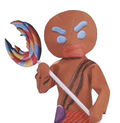SANTA GINGERBREAD MAN  WARRIOR ADULT MENS COSTUME-INFLATABLE LOLLIPOP ONLY******](Gingerbread Man Costume Adult)