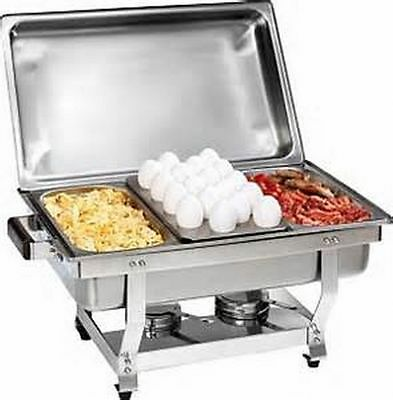 1/3 Size CHAFER PAN 3 PACK CATERING HOTEL CHAFING DISH ONE THIRD SIZE PANS  ()