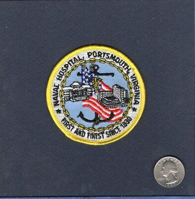 Naval Hospital PORTSMOUTH VA US NAVY Base Squadron Hat Jacket -