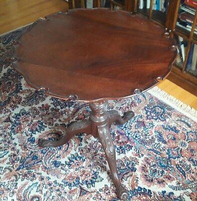 Antique Tilt Top 18th Century Table
